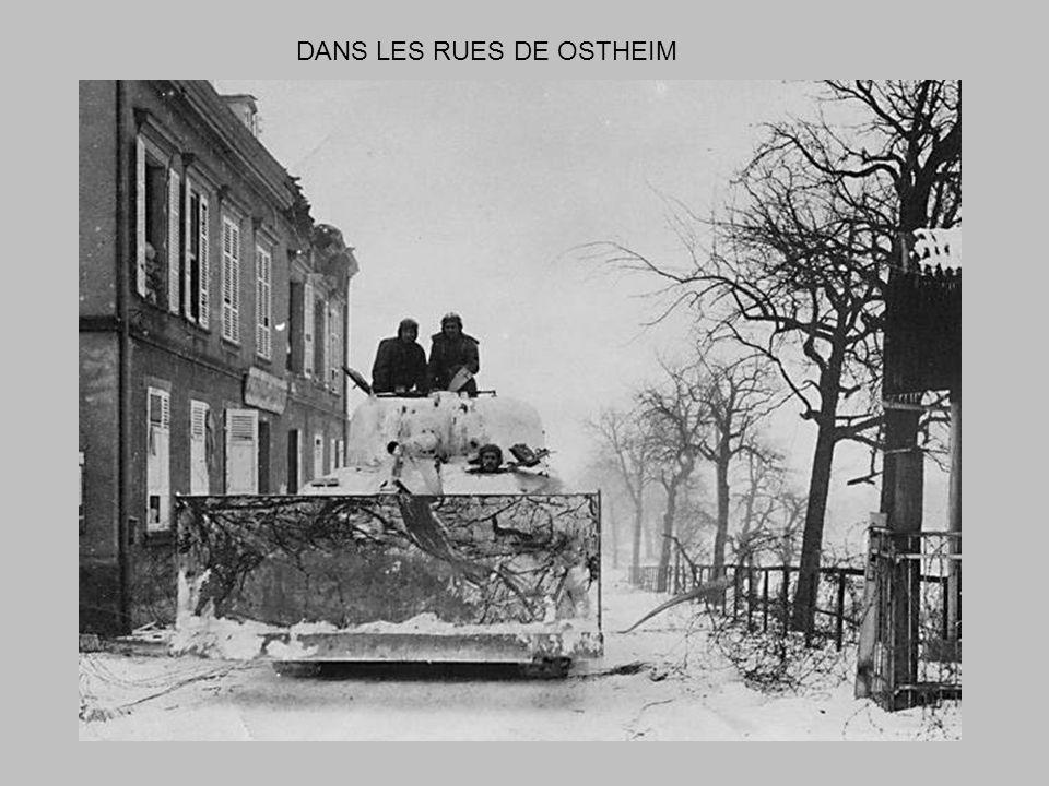 31 janvier 1945 Lopération prévue sur ANDOLSHEIM est reportée. Journée calme et tiède : le dégel a commencé brusquement dans la nuit.