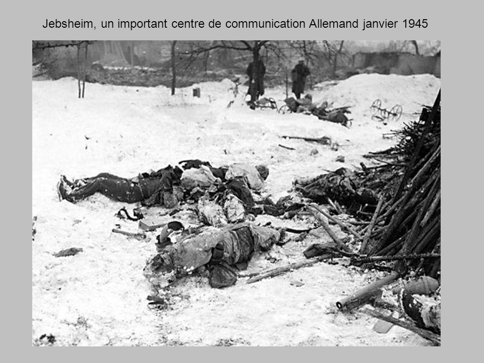 Ostheim dans la nuit du 23 janvier 1945
