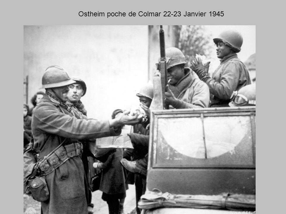 Major Général John W. Iron Mike O'Daniel à Ribeauville 1945