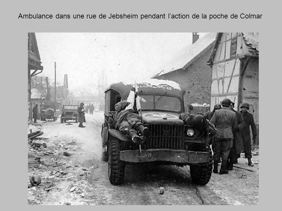 Equipement et munitions jebsheim position Allemande abandonnée