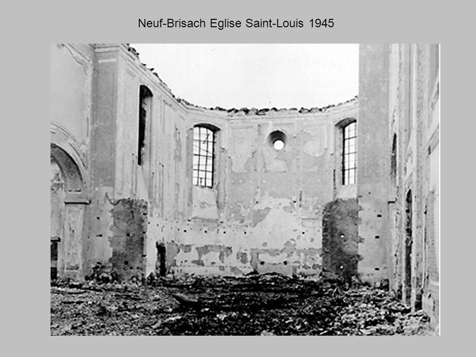 Les Americains a Neuf-Brisach 1945