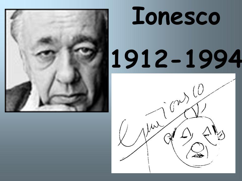 Ionesco 1912-1994