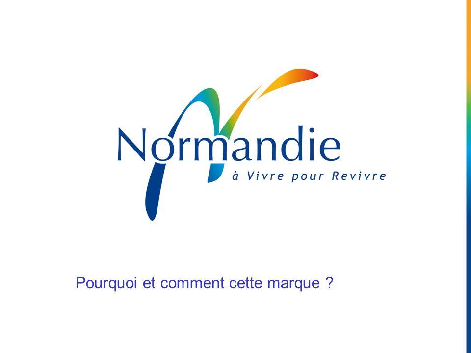 Naissance dune marque Analyse des stéréotypes Ecoute des consommateurs Les révélations du Portrait Identitaire La Normandie : colorée et sensorielle !