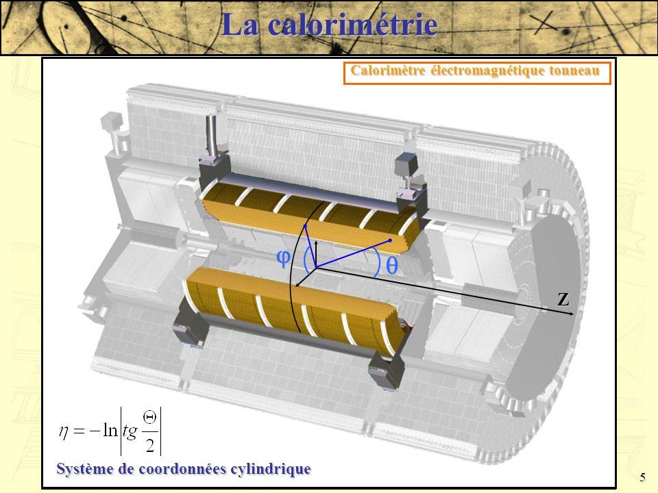 Damien Prieur - LAPP - JJC 20035 La calorimétrie Partie Tonneau Parties Bouchons Calorimètre électromagnétique tonneau Cryostat Calorimètre hadronique