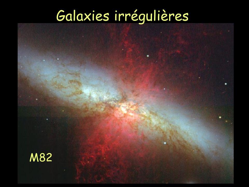 M82 Galaxies irrégulières