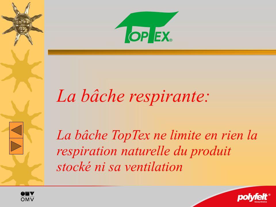 Fixation de la bâche: La meilleure méthode, la plus économique et la plus esthétique est la fixation de la bâche avec les sacs boudins TopTex remplis de gravier.
