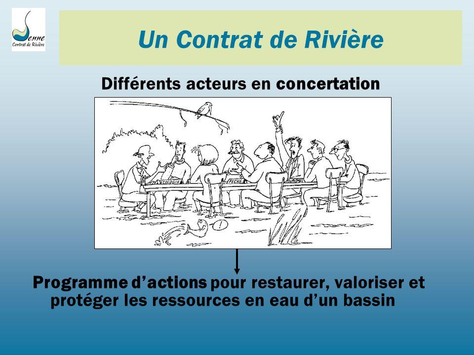 14 Contrats de Rivière en Wallonie