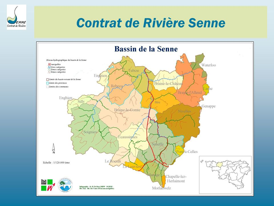 Lutte contre les inondations Liens utiles: - Audition du Parlement wallon - Commission des Travaux publics, de lAgriculture, de la Ruralité et du Patrimoine - 7 avril 2011 : http://nautilus.parlement-wallon.be/Archives/2010_2011/CRIC/cric129.pdf -Site SOS Inondations: http://www.sos-inondations-tubize.be/doku.php?id=start Contrat de Rivière Senne Place Josse Goffin, 1 1480 Clabecq Tel/Fax: 02/355.02.15 Courriel: info@crsenne.beinfo@crsenne.be Site: www.crsenne.bewww.crsenne.be