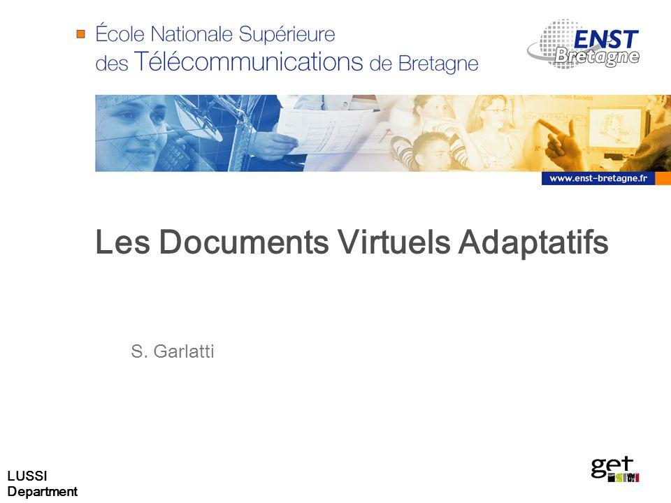LUSSI Department 52 Moteur de composition adaptif Selection méthode dadaptation