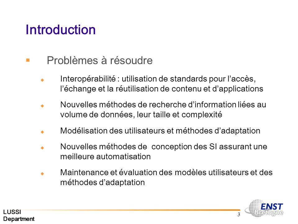 LUSSI Department 44 Spécification Déclarative Document générique: Évaluation des ressources