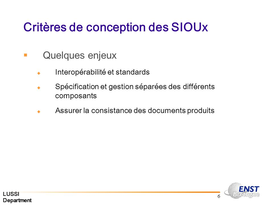 LUSSI Department 27 Description de lApproche Graphe générique Ressources Modèle de document et dadaptation