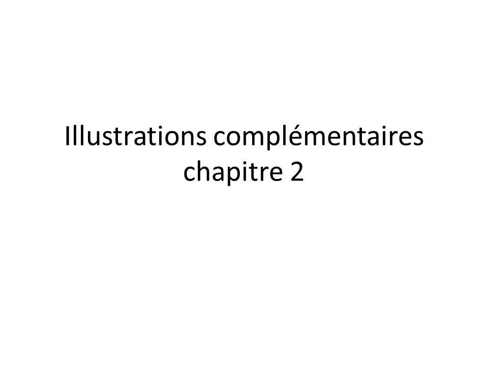 Illustrations complémentaires chapitre 2