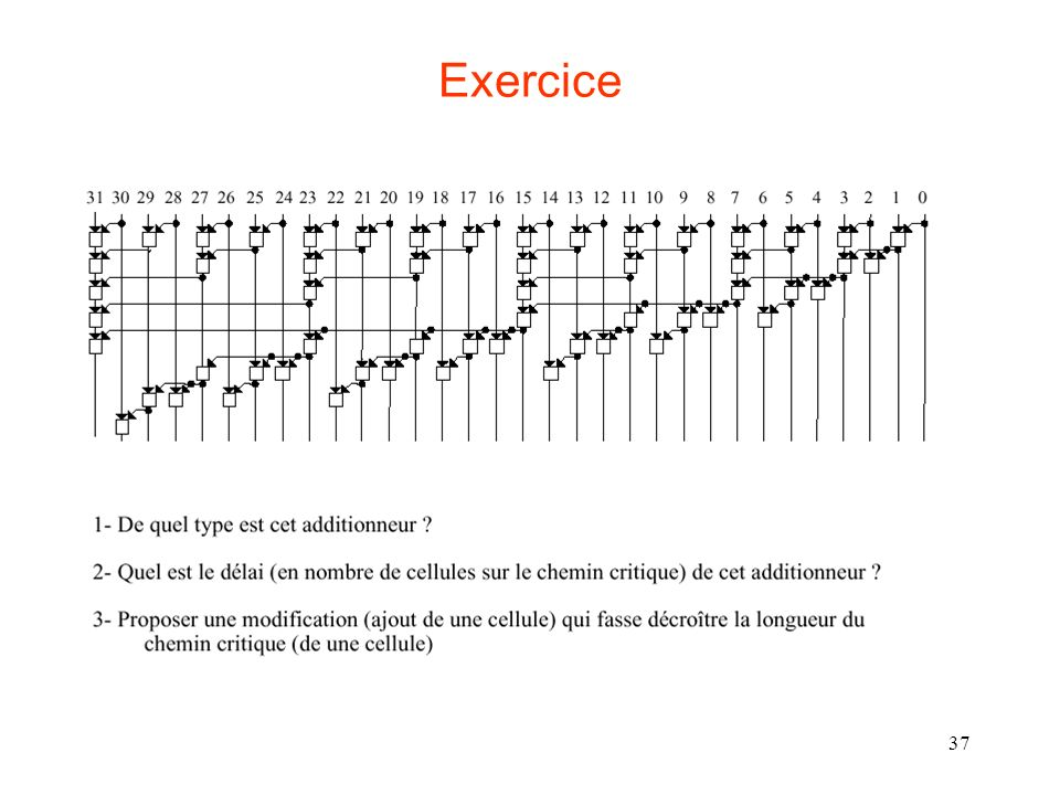 37 Exercice