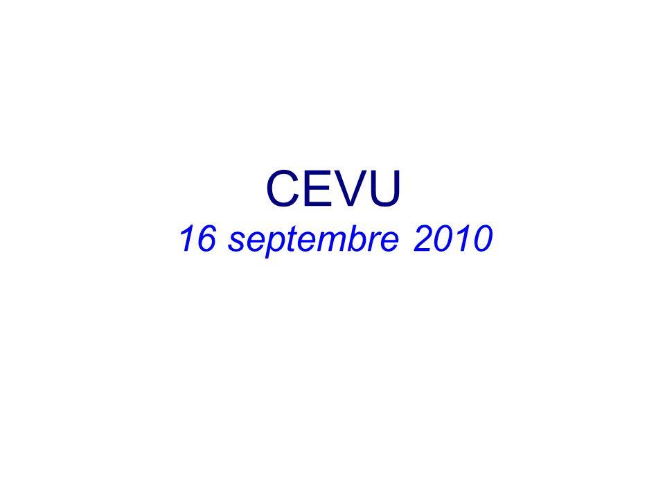 CEVU 16 septembre 2010