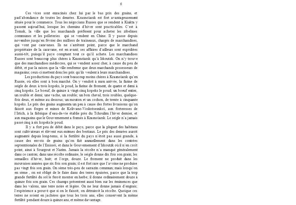 17 Reis van Professor Peter Simon Pallas doorheen verscheidene provincies in het Russische Rijk Bewerking en vertaling naar het Nederlands: Eric W.