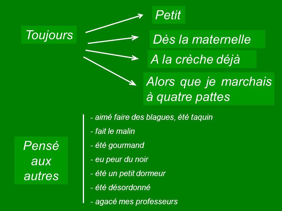 Toujours + Passé Composé Une action renouvelée autrefois + Imparfait Une action « rare » + P.Comp Un comble Un comble ???