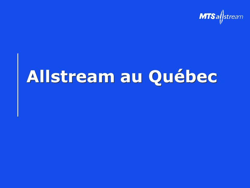 Allstream au Québec
