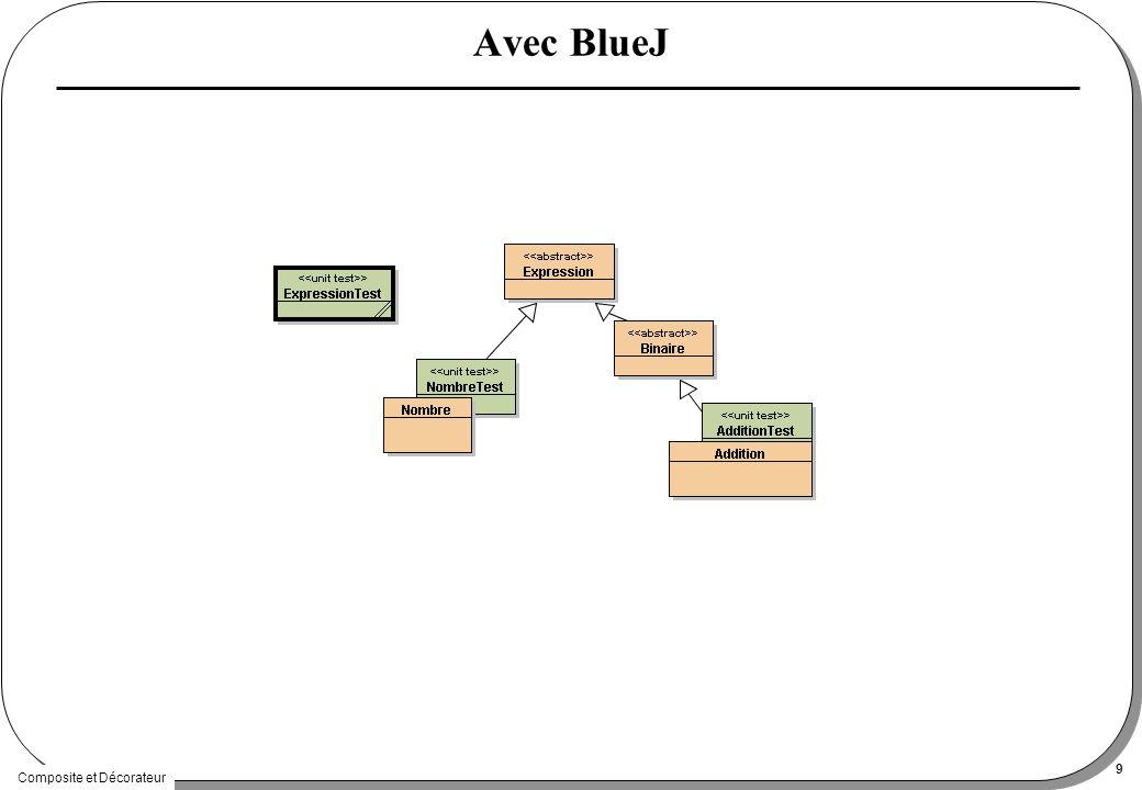 Composite et Décorateur 9 Avec BlueJ
