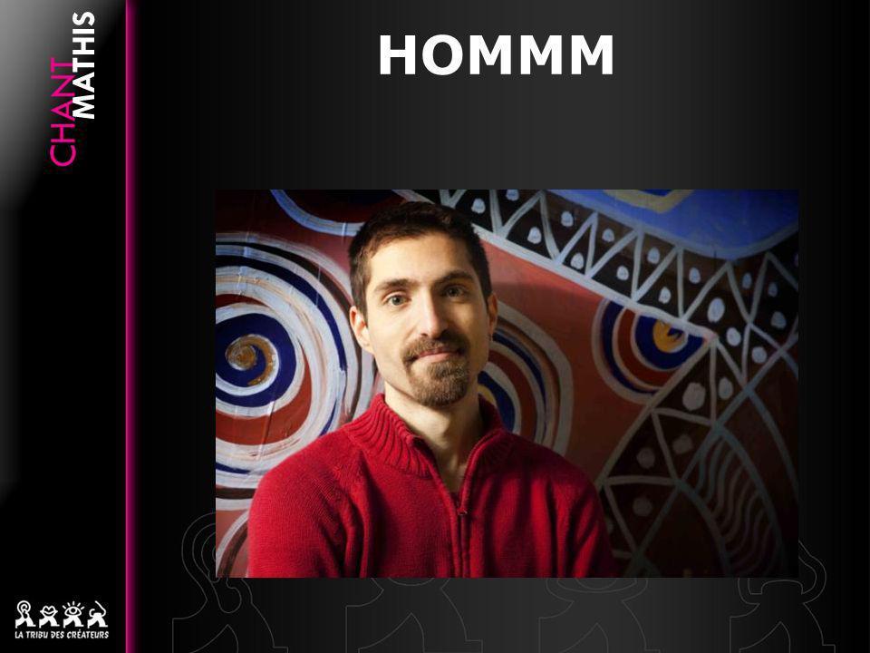 HOMMM Mathis est fasciné depuis lenfance par le chant et la polyphonie.