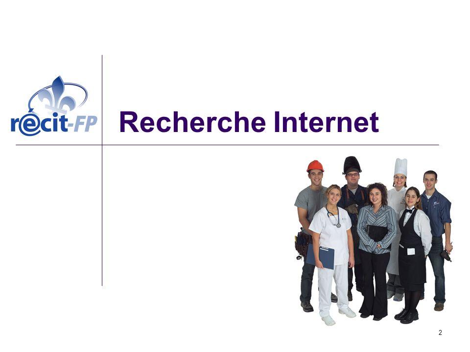 Recherche Internet 2