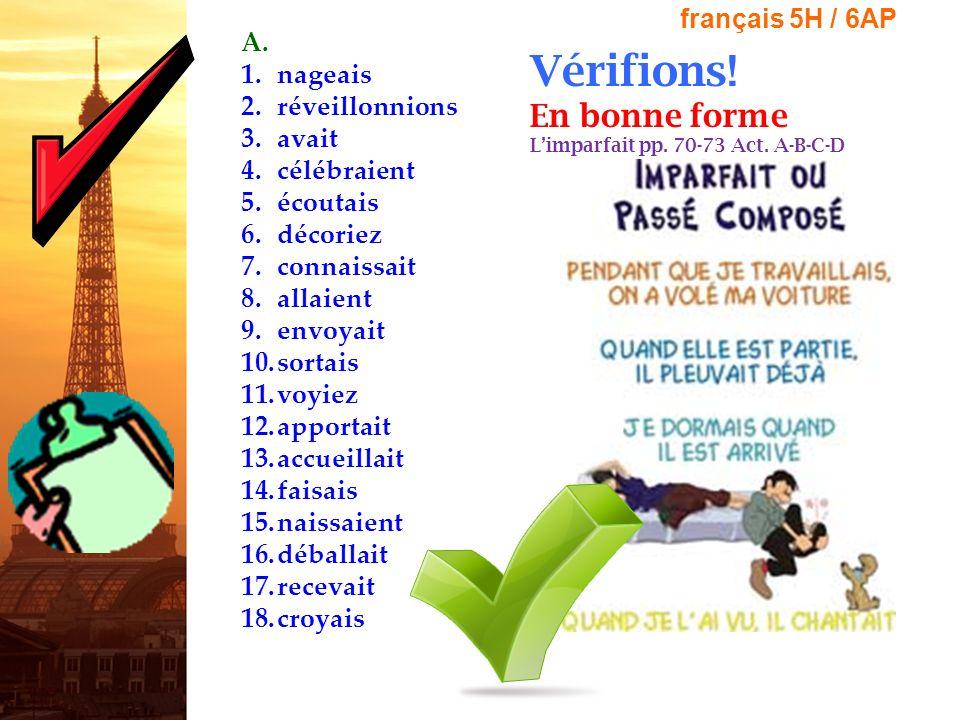 Annonces Importantes.1. LA SEMAINE NATIONALE DE FRANÇAIS –Le 12 novembre – le 16 novembre 2012 2.