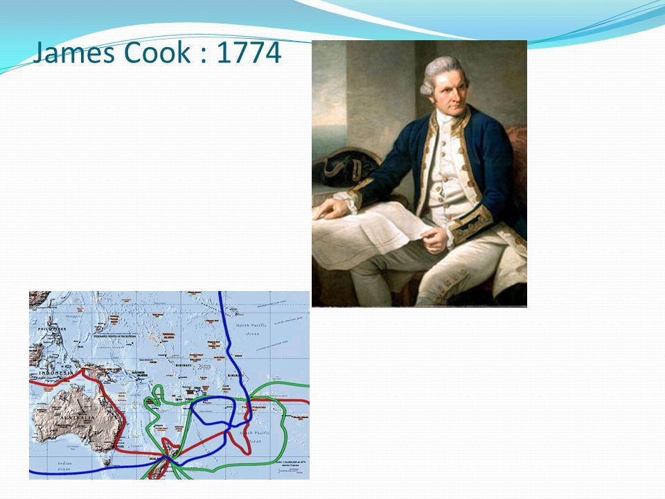 James Cook : 1774