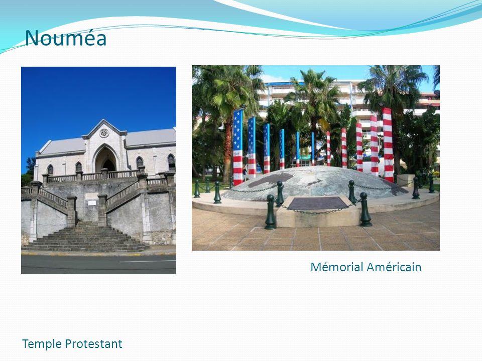 Nouméa Temple Protestant Mémorial Américain