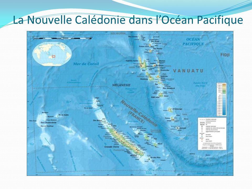 La Nouvelle Calédonie dans lOcéan Pacifique