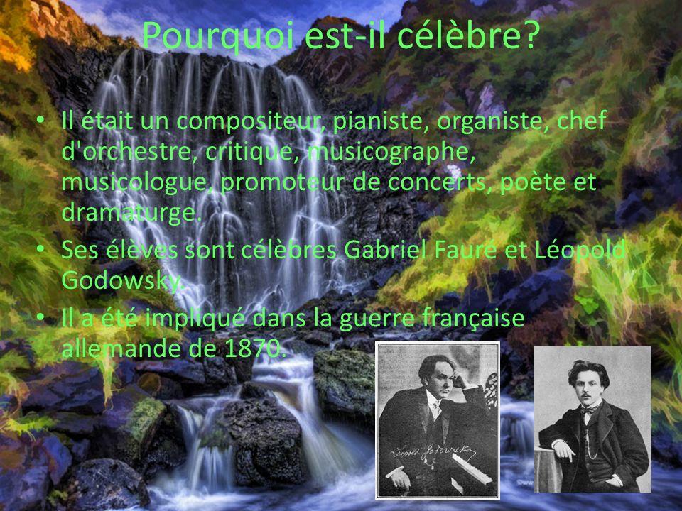 Sources http://www.8notes.com/biographies/saint- saens.asp http://www.8notes.com/biographies/saint- saens.asp http://en.wikipedia.org/wiki/Camille_Saint- Sa%C3%ABns http://en.wikipedia.org/wiki/Camille_Saint- Sa%C3%ABns http://www.saintsaens.com/ssbio/ http://www.classical- composers.org/comp/saint http://www.classical- composers.org/comp/saint