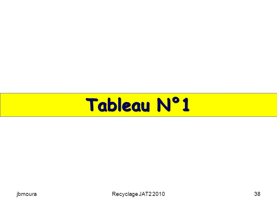 jbmouraRecyclage JAT2 201038 Tableau N°1