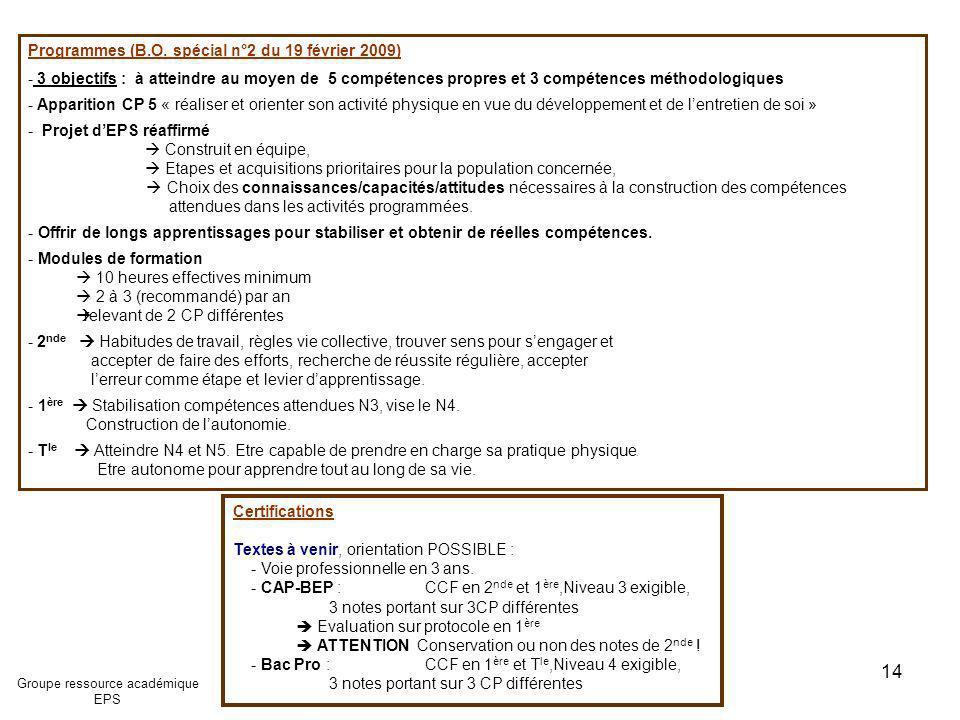 Certifications Textes à venir, orientation POSSIBLE : - Voie professionnelle en 3 ans. - CAP-BEP : CCF en 2 nde et 1 ère,Niveau 3 exigible, 3 notes po