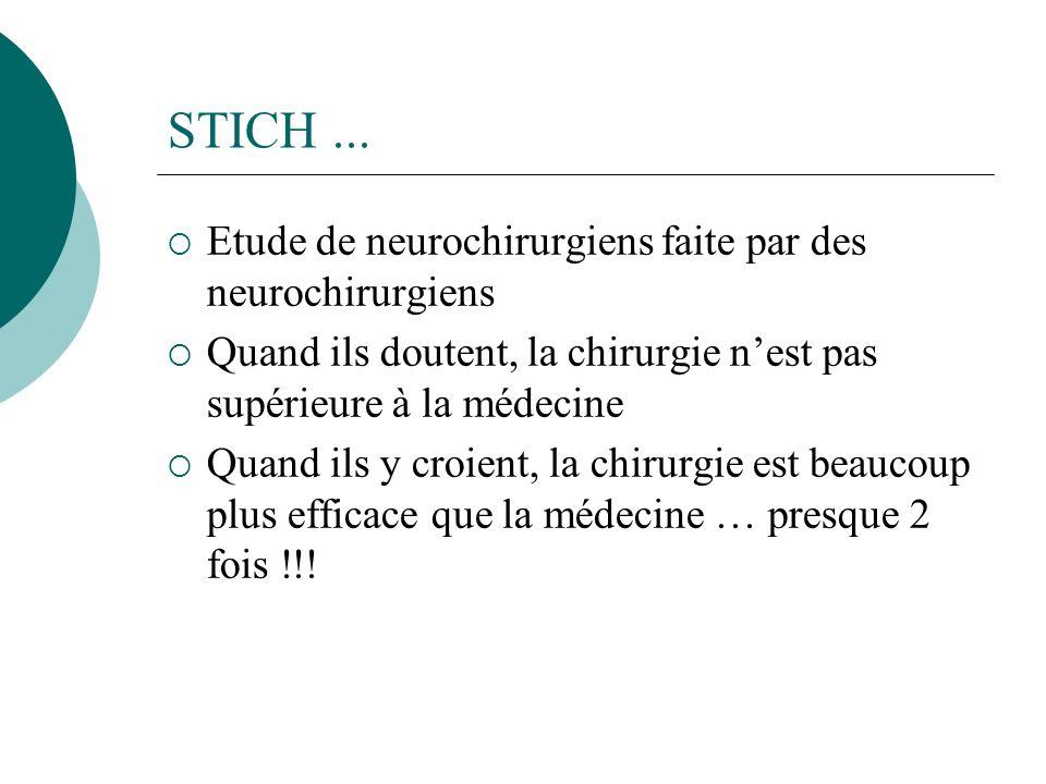 STICH...