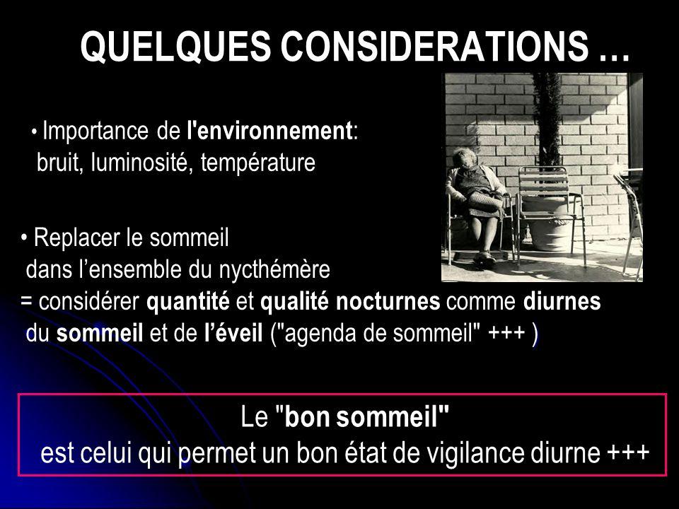 VARIATIONS AVEC L AGE (3) Causes: PROBABLE POLYFACTORIALITÉ: Modifications endo.