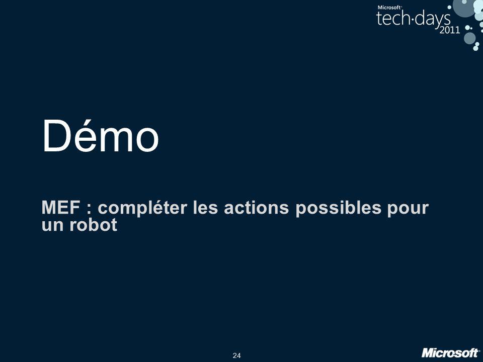 24 Démo MEF : compléter les actions possibles pour un robot