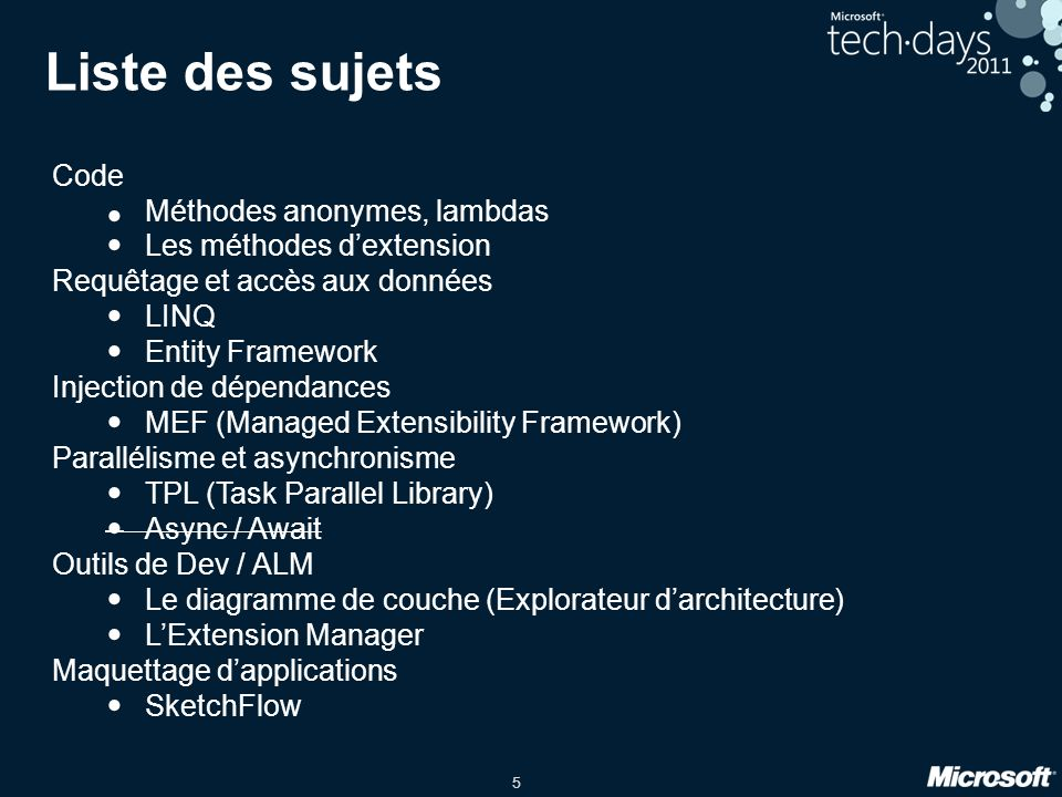 26 Task Parallel Library Où Quand .