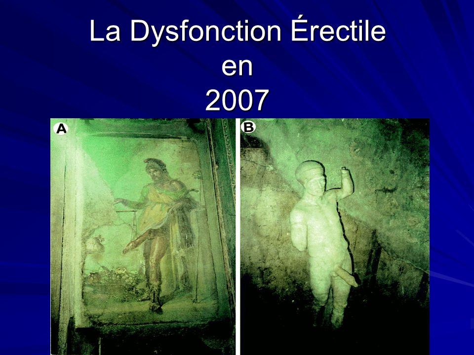 La Dysfonction Érectile en 2007