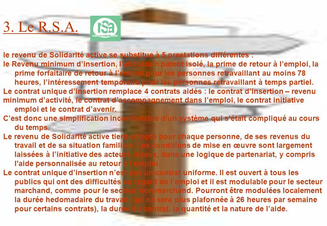3. Le R.S.A.
