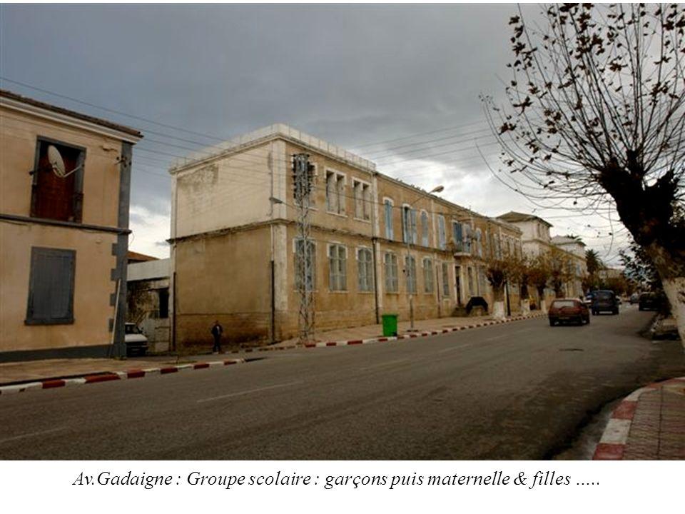 La Mairie prise de lAv.Gadaigne- A g. lAvenue Vivonne-Devant les Gardes Françaises…..