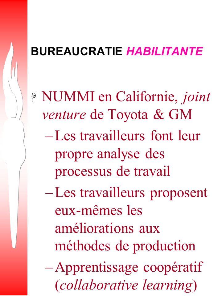 BUREAUCRATIE HABILITANTE (Enabling Bureaucracy – P.S.