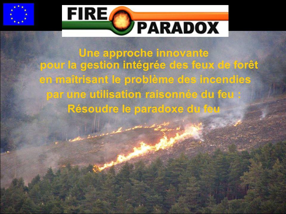 Une approche innovante pour la gestion intégrée des feux de forêt en maîtrisant le problème des incendies par une utilisation raisonnée du feu : Résoudre le paradoxe du feu