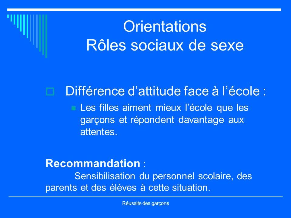 Réussite des garçons Coordination Mme Pauline Langlais Mme Michèle Roberge Coordonnatrices CEP Montréal et CEP Québec http://www.cadre.qc.ca/feep/primaire/garcon.html
