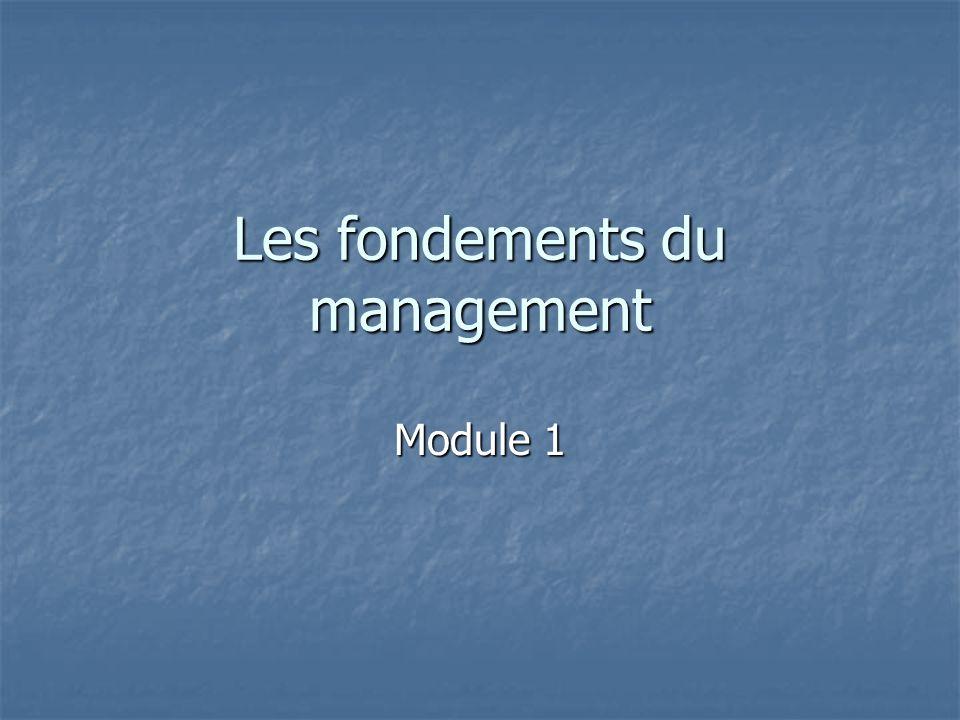 Le management comportemental Module7