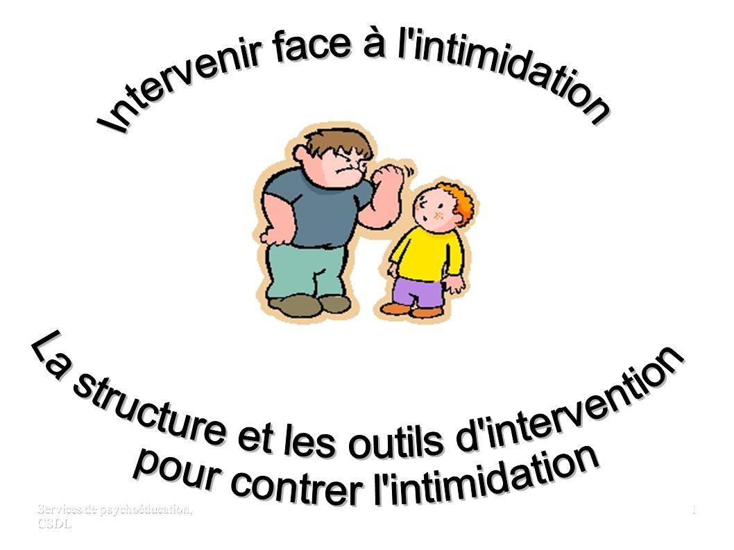 Services de psychoéducation, CSDL 11 DEUXIÈME INTERVENANT Intervenir auprès de la victime 1.
