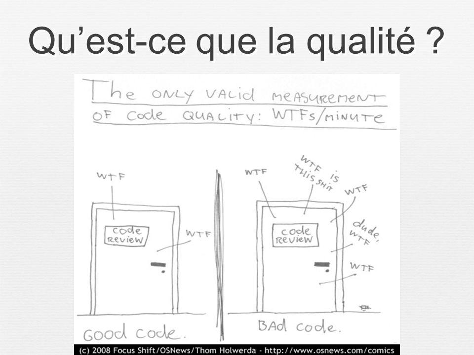 10 Quest-ce que la qualité ?