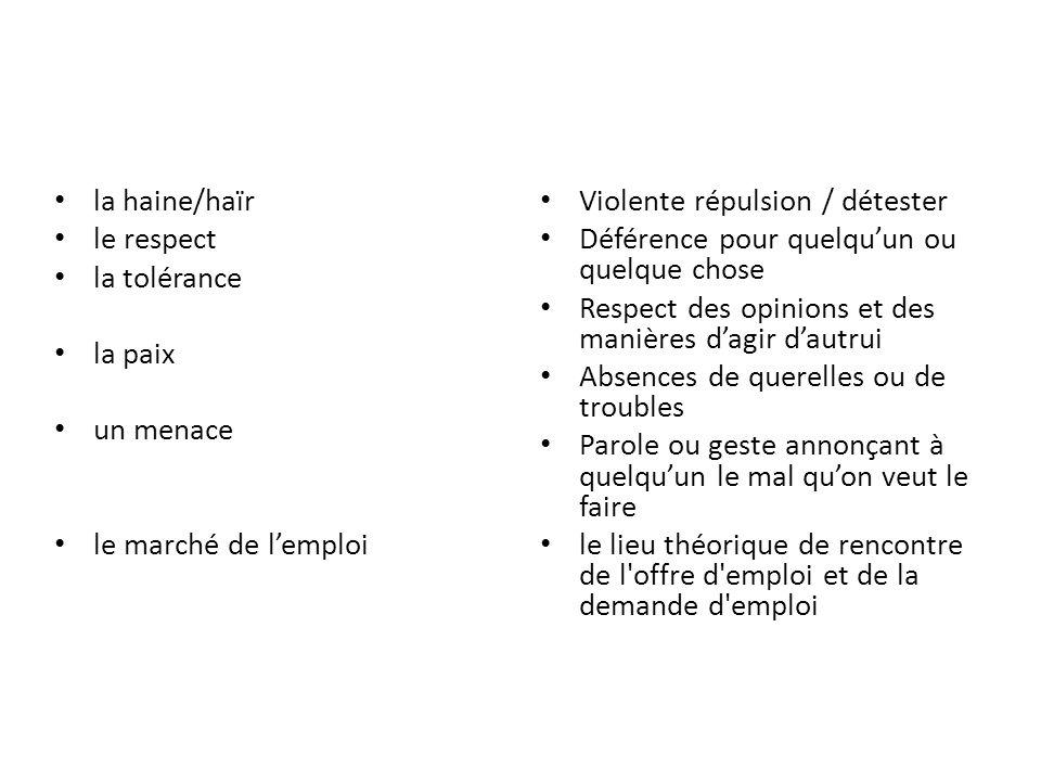 parler + langue – On parle français ici.