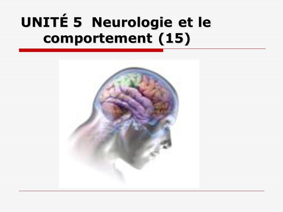 UNITÉ 5 Neurologie et le comportement (15)