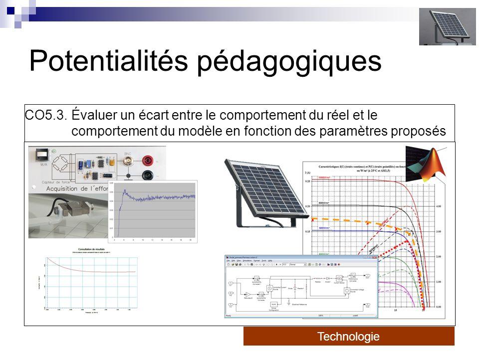 Potentialités pédagogiques CO5.3.