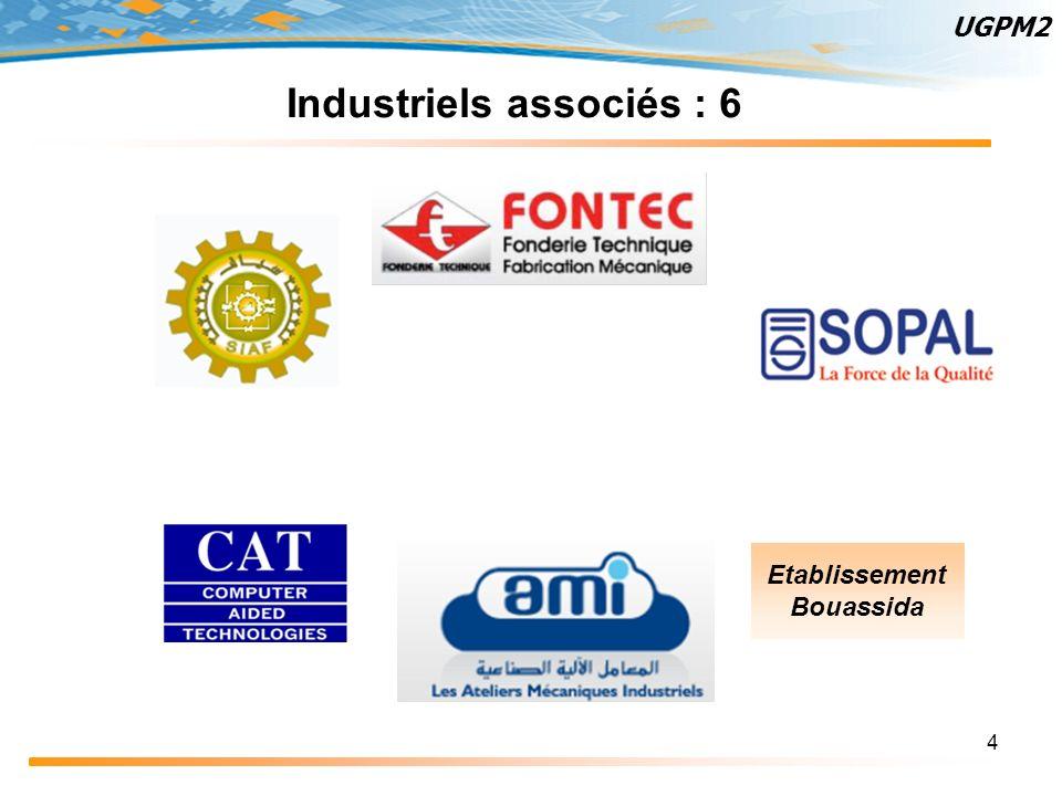 4 Industriels associés : 6 Etablissement Bouassida UGPM2
