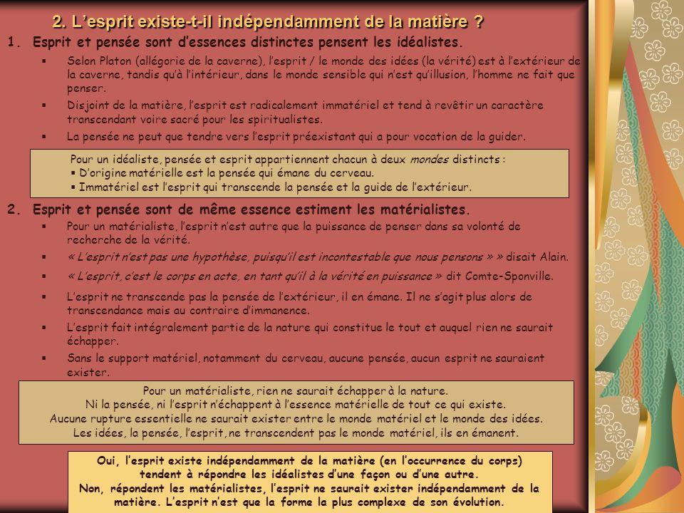 3.Lidéalisme prédispose-t-il au dogmatisme .Animation Mireille Keller Quest-ce que le dogmatisme .