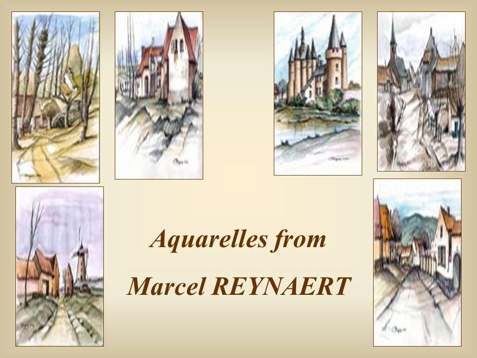 Aquarelles from Marcel REYNAERT